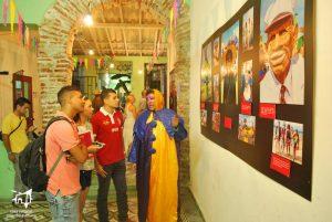 Inauguración festiva de la exposición de David Lara Ramos