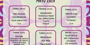 05_Programación Cultural Mayo 2019