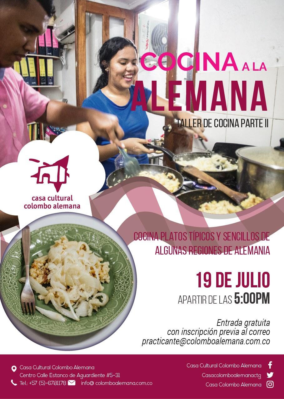 taller de cocina a la alemana segunda parte julio 2019