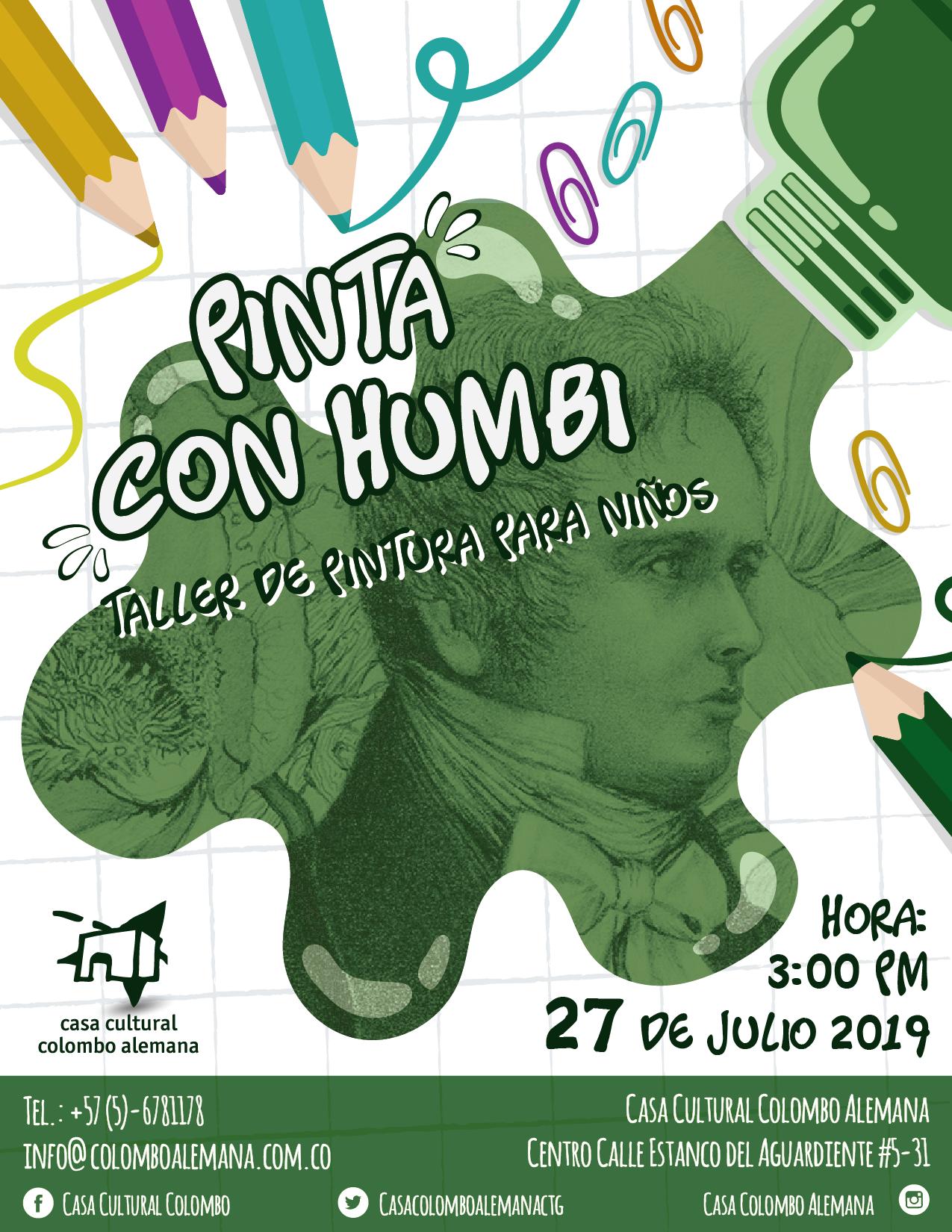 Pinta con Humbi - Malen Taller für Kinder
