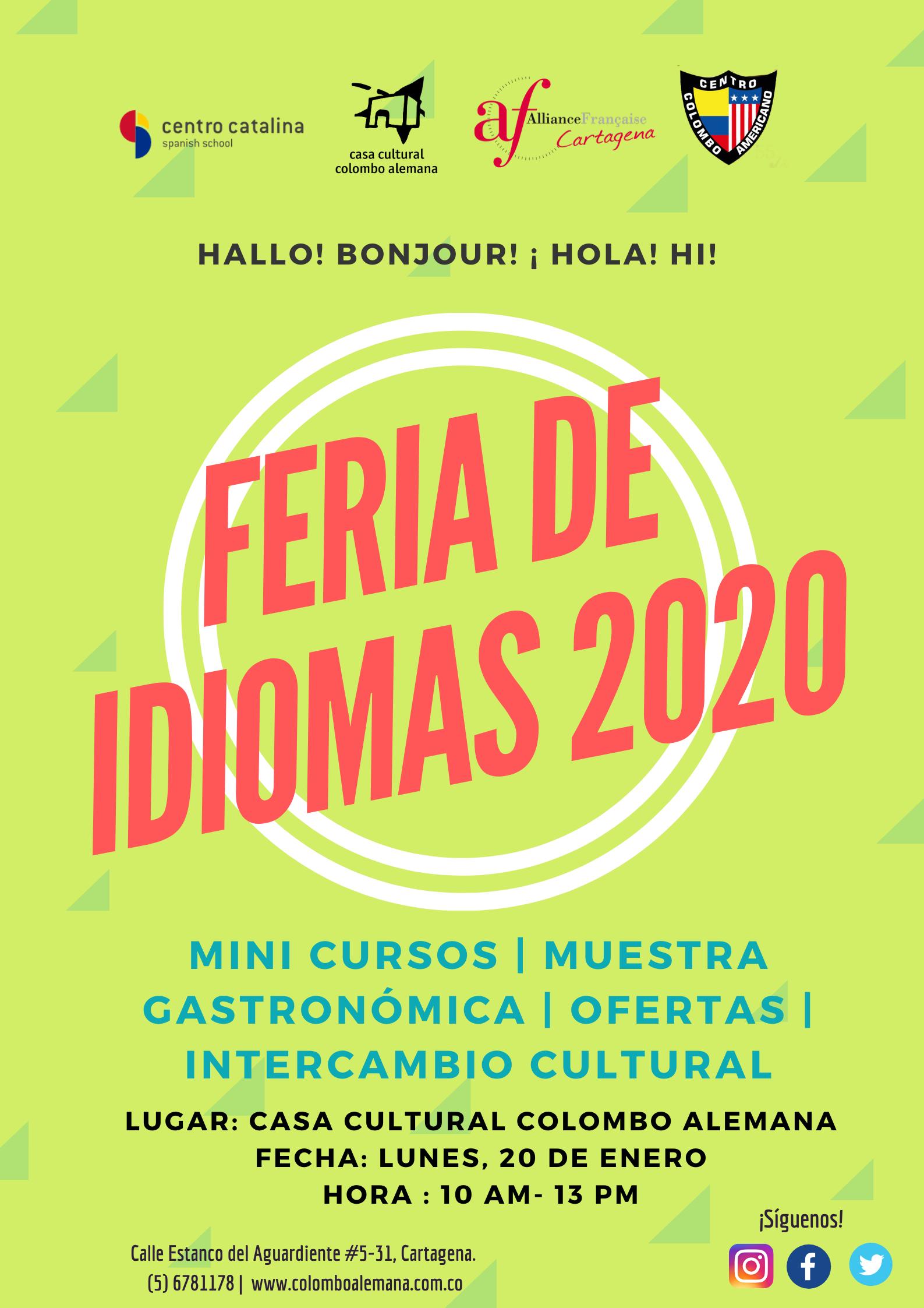 Feria de idiomas 2020