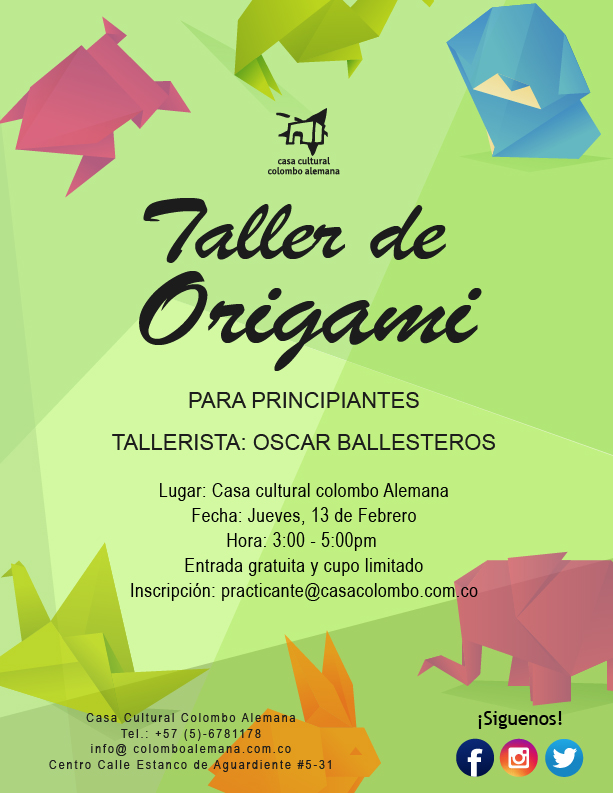 Taller de origami intermedio_Feb 2020