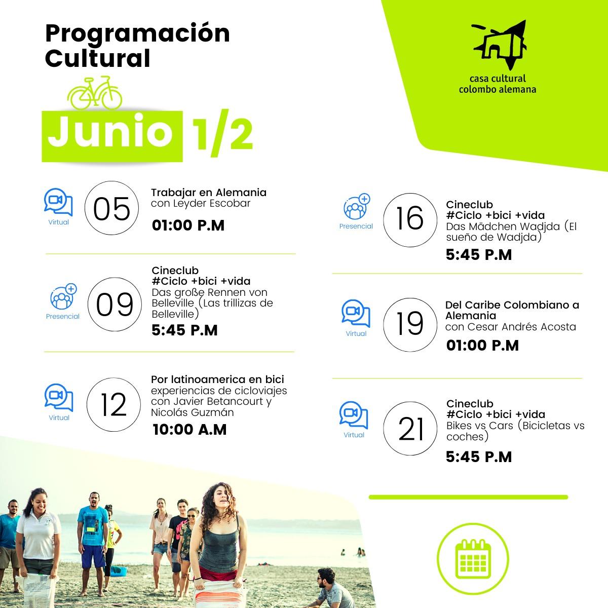 programacion junio 1